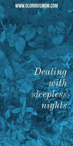 Dealing with sleepless nights: tips for managing sleep deprivation when you have kids that don't sleep through. How do moms manage it? Parenting advice.