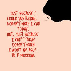 Just because... A reminder for family and friends of those with chronic pain