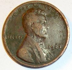 Rare 1923 P Lincoln Wheat Penny