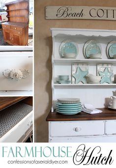 Farmhouse Hutch Makeover | Hometalk