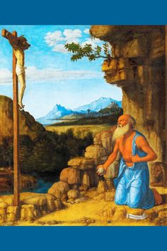 Saint Jerome in the Wilderness I, by Cima da Conegliano