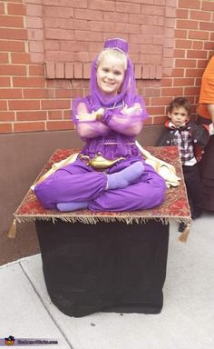 Genie on a Magic Carpet Costume - Halloween Costume Contest via @costume_works