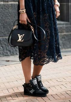 Logo Love #louisvuitton xoSocialite. However, the shoes have got to be replaced with sassy, classy shoes.