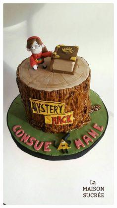 Mi primer intento con una torta de Gravity Falls... creo que salió bien! Gravity Falls cake