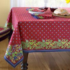 Provence Tablecloth #williamssonoma