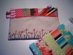 I wish I could sew such a cute pencil case. Some day...