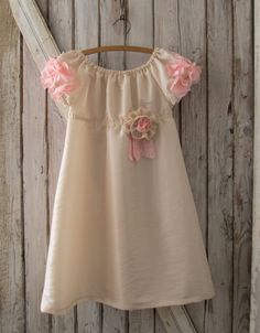 Peony Flower Girl Dress. Party Dress PDF by RubyJeansCloset