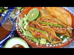 Cilantro, Quesadilla, Tacos, Ethnic Recipes, Youtube, Food, Crock Pot, Homemade Desserts, Mexican Cuisine