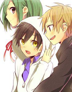 Tags: Anime, Hachimikks (Artist), Kagerou Project, Kido Tsubomi, Kano Shuuya, Seto Kousuke