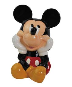 Another great find on #zulily! Mickey Bank #zulilyfinds