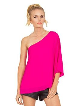The Sugarlips Pink Cape Top is a hot pink off the shoulder cape top. Fully lined. Price : $59.00 #MyLuluCloset #Sugarlips #NewArrivals