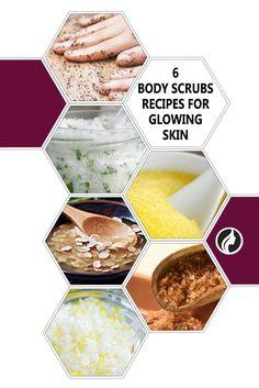 DIY Body Scrubs That Will Make Your Skin Glow ★ See more: http://glaminati.com/simple-diy-body-scrubs/