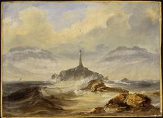 Highlights from the National Gallery's exhibition of paintings by the Norwegian artist Peder Balke A4 Poster, Poster Prints, National Gallery, Scandinavian Art, Historical Art, Vintage Artwork, National Museum, Art Museum, Lighthouse