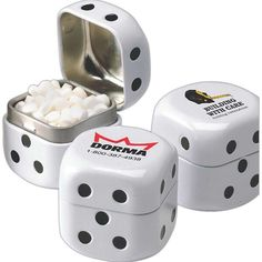 Gambling  Dice shaped tins filled with Sweets Corporate Giveaways,  Corporate Gifts, Trade d489ef079587