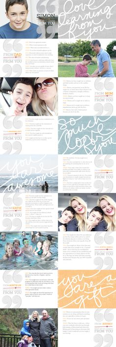 What We've Learned From You 4x6 Layered Template Set