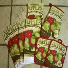 apple decorations for kitchen - Bing Images ~ for my own kitchen someday