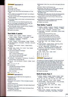 Testy i Odpowiedzi English Explorer 2 (3)