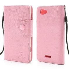 Sony Xperia L (C2105/ C2104) SIMPLE FLIP Ružové Púzdro Sony Xperia, Flipping, Mobiles, Phone Cases, Wallet, Simple, Mobile Phones, Purses, Diy Wallet