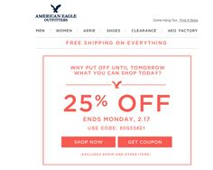 "AEO ""Plus"" ƒree Shipping!ends soon folks! Clearance Shoes, Aeo, Coupon Codes, Coupons, Shop Now, Coding, Eagle, American, Coupon"