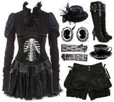 Emilie Autumn style.. Haha, it's weird that I actually love this.