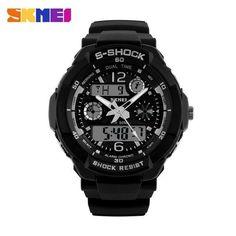 SKMEI Brand Children Sports Watches 50m Waterproof Fashion Casual Quartz Digital Watch Boys Girls LED Multifunction Wristwatches