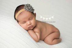 Leopard Baby Headband  Baby Headbands  Newborn by PoshLittleTots
