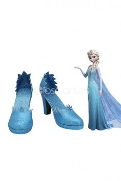 Frozen Queen Elsa Cosplay Shoes Frozen Queen, Queen Elsa, Elsa Cosplay, Cosplay Costumes, Final Fantasy Vii Remake, Cosplay Boots, Clark Kent, Dress Making, Superman