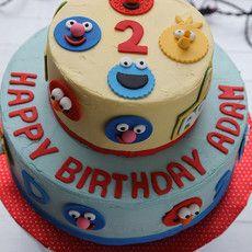 sesame street Sesame Street Birthday Cakes, Sesame Street Cake, Elmo World, Cute Cakes, Cake Ideas, Party, Desserts, Creativity, Kids