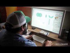 Aaron Draplin on Working Efficiently in Illustrator - Vectors Are Free - YouTube