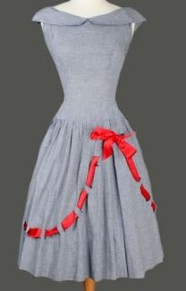 Anyone have a time machine so I can go back to the 1950s just for the clothes? PLEASE?