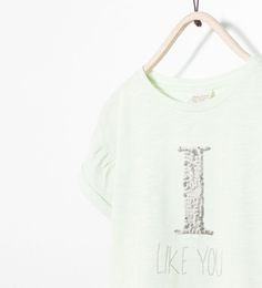 Image 3 of SEQUINNED EMBROIDERED T-SHIRT from Zara
