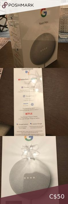 Google home mini- 2nd generation Brand new google home mini- second generation. In sealed packaging. Google Other