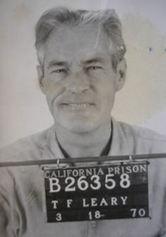 Celebrity Mug Shots: TIMOTHY LEARY