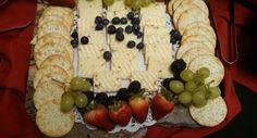 Besides cheese and crackers, what's your favorite thing to put on a cheese platter? A lot of people like almonds, and the Catering On Time team is a fan of fresh fruit!