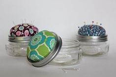 Pincushions. Cute, practical, and fun to make.