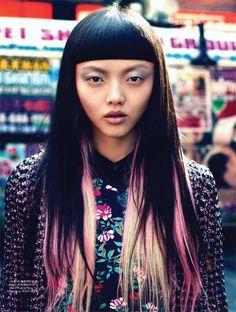 Rila FUKUSHIMA, cool hair