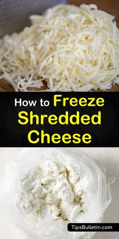 4 Simple Ways to Freeze Shredded Cheese 4 Simple Ways to Freeze Shredded Cheese Kathy Webb izzyzmommy Do This Yes you can freeze shredded cheese Learn the nbsp hellip Of Cheese Cheese Dishes, Cheese Recipes, Freezing Cheese, Block Of Cheese, Types Of Cheese, Frozen Meals, How To Make Cheese, Different Recipes, Preserving Food