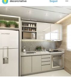 This pin of kitchen design & decor found on Hometalk and around the web. Brought to you by Kitchen Lovers! Contemporary Kitchen Design, Interior Design Kitchen, Kitchen Decor, Kitchen Designs, Apartment Kitchen, Apartment Design, Home Kitchens, Kitchen Remodel, Sweet Home