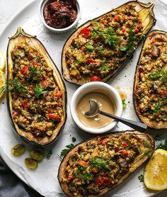 Sweet Potato Casserole, Sweet Potato Recipes, Vegetable Recipes, Vegetarian Recipes, Cooking Recipes, Savoury Recipes, Healthy Recipes, Mediterranean Eggplant Recipe, Mediterranean Vegetables Recipe