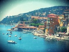On the coast of Villefranche sur Mer is where our story begins | Maison sur Mer | www.maisonsurmer.com