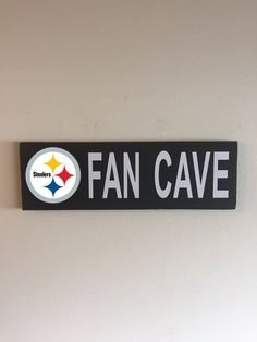 Pittsburgh Steelers Fan Cave Wood Sign / Pittsburgh Steelers Wood Sign / Pittsburgh Steelers Fan Sign / Pittsburgh Steelers Decor by KingOfSawdust on Etsy https://www.etsy.com/listing/515661597/pittsburgh-steelers-fan-cave-wood-sign