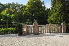 mooie houten poort