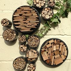 Garden Crafts, Garden Art, Garden Design, Diy Garden, Jardin Vertical Artificial, Bug Hotel, Backyard Buildings, Back Gardens, Growing Plants