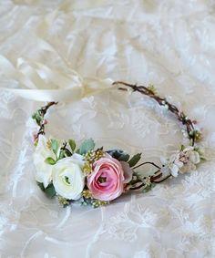 flower crown wedding bridal flower crown bridal flower