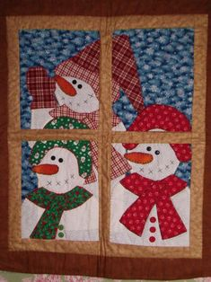 Snowman are an iconic figure for all things Winter. Not just the Holiday season, but the following months as well. These 8 snowman quilt patterns would be adorable and festive to adorn any home d…