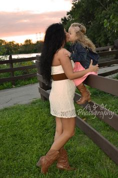 Mommy daughter photo session