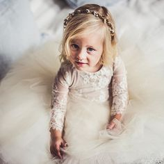 Dressed and ready for her flower girl duties 😍😍 (Wearing champagne style #1109) Photo by UK Photographer @clairepennphoto #flowergirl #wedding #laceleotard #marthaweddings #tutu And check out @ooohmyhero custom wedding cake toppers! #weddingcaketopper