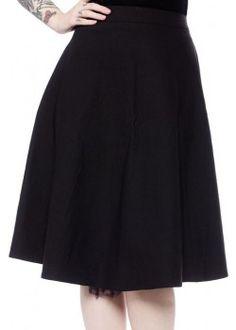 Donna Black Skirt