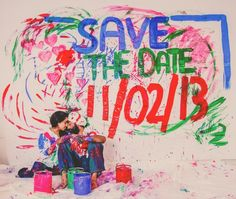 Save the Date Indian Engagement Session by A.S. Nagpal Photography via IndianWeddingSite.com