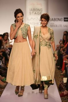 Lakmé Fashion Week – SHILPA REDDY AT LFW SR 2015 Lakme Fashion Week 2015, Senior 2015, Indian Outfits, Indian Clothes, Traditional Looks, Every Woman, Lace Skirt, Crop Tops, Skirts